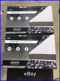 Lux Living Beautyrest Black Ice Memory Foam Pillow(2) $129.99 Retail