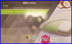Lux Living Coconut Bliss Natural Pillow Memory Foam New Box Free Shipping