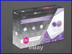 Lux Living Lavender Natural Bliss Pillow Memory Foam 100% Genuine New Box