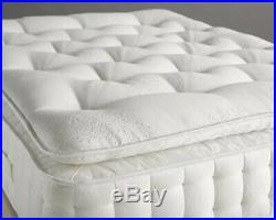 Luxury 2000 Pocket Sprung Memory Pillow Top Double Mattress All Sizes Available