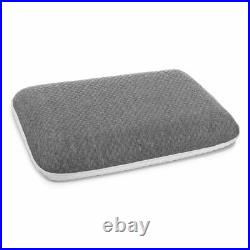 Luxury 2in1 Memory Foam Core Orthopaedic Support Firm Bed Pillow Anti-Bacterial