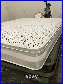 Luxury 4ft63000 pocket double memory foam pillow top mattress