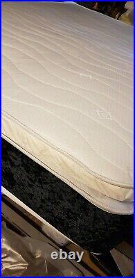 Luxury 4ft6 double memory foam pillow top mattress