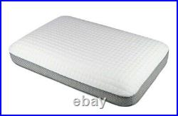 Luxury Deluxe Solid Temperature Sensitive Memory Foam Pillow Cooling Air Flow