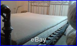 Luxury Memory Foam Mattress & pillow topper 5ft King size(priced to sell)