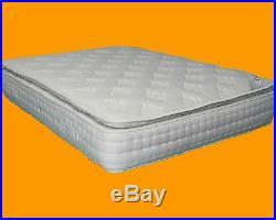 Luxury Memory Foam Pillow Top 3000 Pocket Sprung Mattress 5ft King Save £900