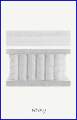 Made. Com Oppala 1500 Pocket Pillow Top Memory Foam Medium Firm, Double Mattress