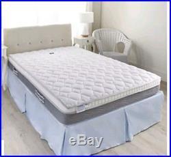 Magniflex Memory Foam Pillow Top Mattress With Silver Coolmax Cover King Size