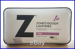 Malouf Queen Pillow Z Zloned Lavender Mid Loft Foam Aromatherapy Spray E97054