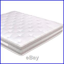 Materasso Matrimoniale con Topper Memory Foam Sfoderabile alto 25 Evergreenweb