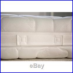 Materasso Memory Foam Top H20 CM Water Foam Rivestimento Antiacaro 2 Cuscini