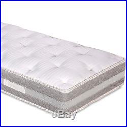 Materasso Singolo 80x190 con Topper Memory Foam Sfoderabile alto 25 Evergreenweb