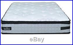 Mattress America Frost 13 Inch Hybrid Pocket Coil Pillow Top Mattress Gel Foam