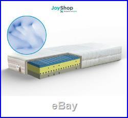 Mattress H20 Multi Wave Removable 4 cm Memory Foam Silver Double 160x200