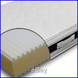 Mattress H24 orthopedic a Wave removable 6 cm Memory foam single 90x195