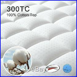 Mattress Pad Cover Memory Foam Topper Pillow Top Thick Cooling Bed Size Twin XL