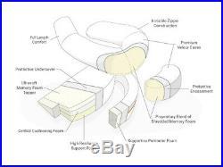 MedCline Acid Reflux Relief (+Shoulder Relief) System, Large, Height 5' 11 up