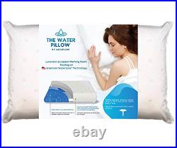 Mediflow Water Pillow Memory Foam re-Invented with Waterbase Technology Proven