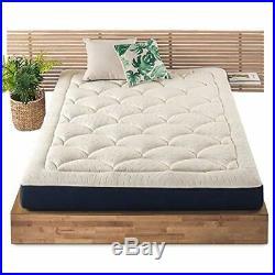 Mellow 8 Inch Marshmallow Mattress Plush Memory Foam Pillow Top, OEKO-TEX and