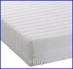 Memory Foam And Reflex 5 Zone Rolled Mattress With Quilted Cover And Pillows D