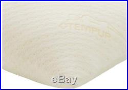 Memory Foam Body Pillow Tempur-Pedic Antimicrobial Removable Washable Cover