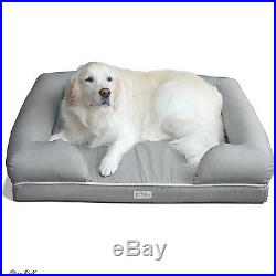Memory Foam Dog Bed Pet Fusions Sofa Chair Rectangle Throw Pillow Indoor Outdoor