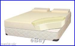 Memory Foam Double Size 25cm Mattress & Tempur Pillow