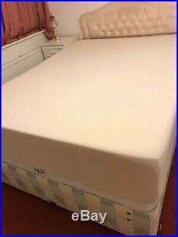 Memory Foam King Size Mattress And 2 Memory Foam Pillows