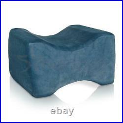 Memory Foam Leg Pillow Orthopaedic Contoured Firm Hips Knee Support Comfort UK