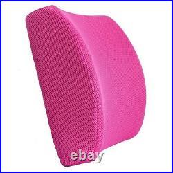 Memory Foam Lumbar Back Support Cushion Waist Pillow Office Home Car Chair Seat