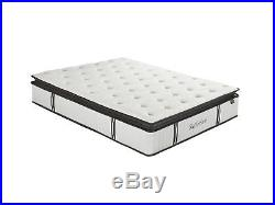 Memory Foam Mattress 12 Inch Pillow Independently Encased Hybrid Mattress Twin