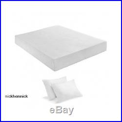 Memory Foam Mattress Sleep Therapy 10 Thick Twin Sleeper Bed Bedding w Pillows