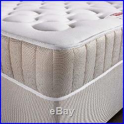 Memory Foam Mattress Sprung 5ft king size Mattress + pillows