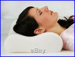 Memory Foam Pillow (2 Pack) FM Ergonomic Luxus Kissen Kopfkissen Schlafkissen