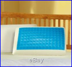 Memory Foam Pillow Cool Gel All Seasons Orthopedic Firm Head Neck Back Support