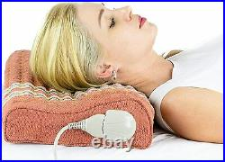 Memory Foam Pillow TAO Mat Filled with Bio Crystals HealthyLine Heated Mat