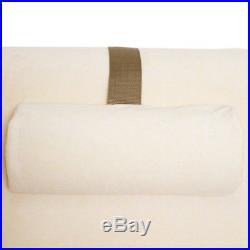 Memory Foam Pillow Wedge System Comfort Sleep Adjustable Back Support Lumbar