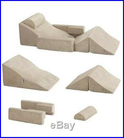 Memory Foam Pillows Wedge Pillow Set 5 Piece Support Bed Back Knee Rest Sets