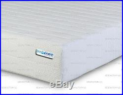 Memory Foam & Reflex 3 Zone Straight Line Miqro Quilt Cover Mattress Free Pillow