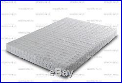 Memory Foam & Reflex 5 Zone Circle Design Miqro Quilt Zip Cover + 2 Free Pillows