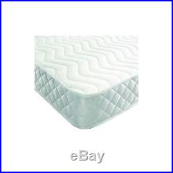 Memory Foam & Reflex Budget Mattress With Free X 2 Pillows Quilted Border