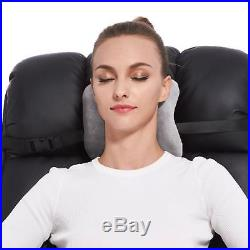 Memory Foam Travel Neck Support Pillow for Airplane Car Buses Train Office Nap