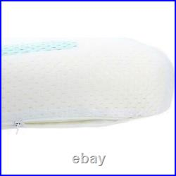Memory Foam Ventilated Cooling Gel Pillow Relieves Pressure Points Aches Pains