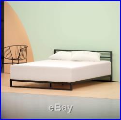 Memory Foam Zinus Mattress King Pillow Top Sleeping Soft Back Spinal Layers Tea