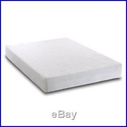 Memory Reflex Foam Mattress Quilted Cover 2 Pillows Rolled Double Medium Soft