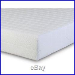 Memory Reflex Foam Mattress Quilted Cover 2 Pillows Rolled King Size Medium Soft