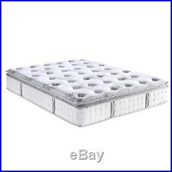Mercer Pillow Top Cool Gel Memory Foam 12-Inch Mattress Innerspring Hybrid QUEEN