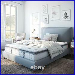 Mercer Pillow Top Cool Gel Memory Foam and Innerspring Hybrid 12-Inch Mattress