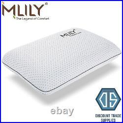Mlily Luxury Premier Gel Ice Medium 12cm Memory Foam Pillow Cool Comfort Gel