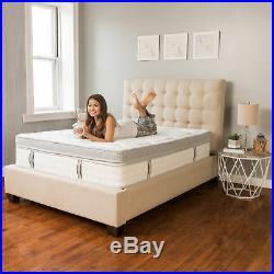 Modern Sleep Pillow Top 14 Hybrid Cool Gel Memory Foam and Innerspring Mattress